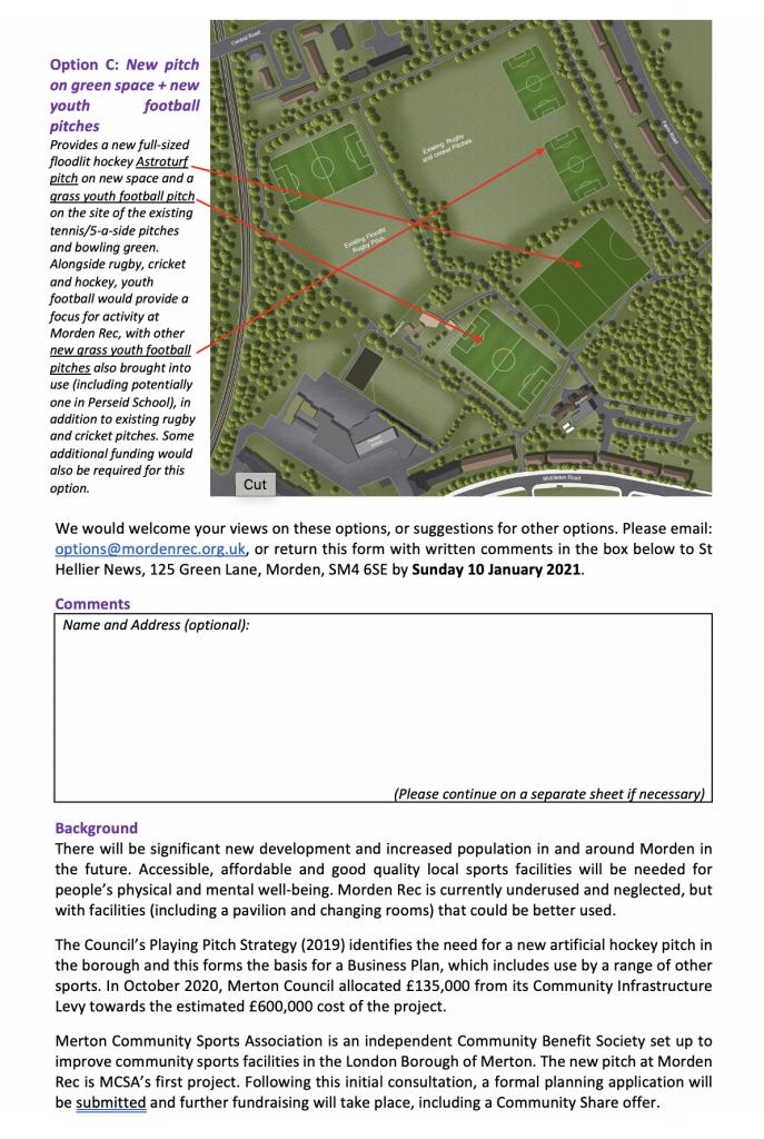 Consultation leaflet p2