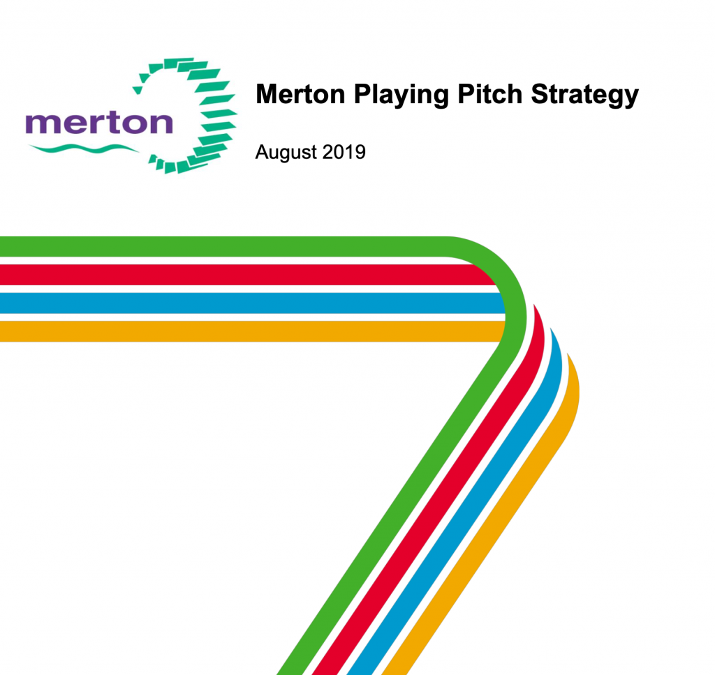 Merton Playing Pitch Strategy Cover